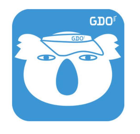 おすすめゴルフアプリドットコム_GDOアプリロゴ