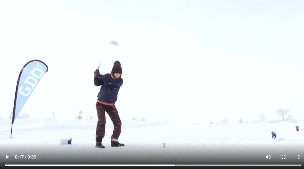 おすすめゴルフアプリドットコム_GDOスノーゴルフゴルフボール